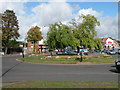 SP1287 : Stechford Lane roundabout by Keith Edkins