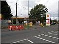 SP1287 : Shell Select Filling Station, Station Road by Keith Edkins
