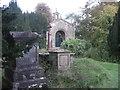 ST7367 : Lansdown Cemetery entrance porch by Stuart Logan