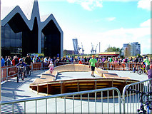NS5566 : BMX track at Riverside Museum by Thomas Nugent