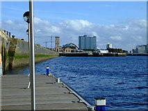 NS5565 : Riverside Museum pontoon by Thomas Nugent