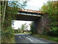SP7728 : Disused Railway Bridge by Mr Biz