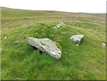 HU4014 : Southvoe burial mound by Derek Mayes