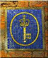 TQ2478 : Post Office Savings Bank logo in mosaic by Julian Osley