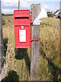 TM3642 : Shingle Street Postbox by Adrian Cable