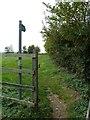 SP7624 : Public Footpath - Hogshaw Road by Mr Biz