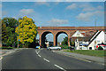 TQ4768 : Railway viaduct, St Mary Cray by Robin Webster