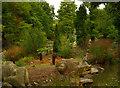 TQ3470 : Heron, Crystal Palace Park by Julian Osley