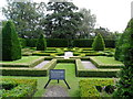 SJ8358 : The Knot Garden, Little Moreton Hall, Cheshire by nick macneill