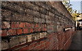 "J3474 : Former ""Sirocco"" wall, Belfast by Albert Bridge"