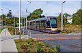 O0427 : LUAS tram no. 3009 at Saggart, Dublin by P L Chadwick