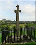 NY4786 : Milnholm Cross by ronnie leask