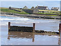 NB4832 : Groyne by Aiginis Farm by Colin Smith