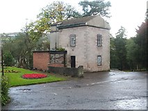 NS2676 : The Ivy House, Greenock Cemetery by Lairich Rig