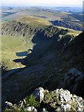SH7313 : View East from Mynydd Moel by Dave Croker