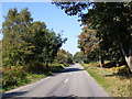 TM3445 : Heath Road, Hollesley Heath by Adrian Cable
