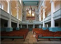 TQ3382 : St Leonard, Shoreditch High Street, Shoreditch - West end by John Salmon
