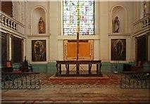 TQ3382 : St Leonard, Shoreditch High Street, Shoreditch - Sanctuary by John Salmon