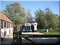 ST5684 : Start of a footpath near Pilning Farm  by Robin Stott
