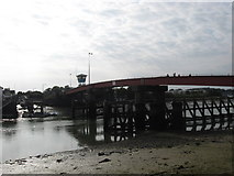 TQ0202 : Footbridge over the River Arun at Littlehampton by James Denham