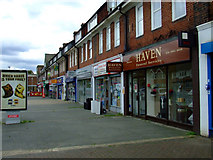 TQ1979 : Shops on Gunnersbury Lane by Thomas Nugent