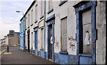 J4874 : Derelict terrace, Newtownards by Albert Bridge