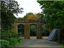 TQ1979 : Arches in Gunnersbury Park by Thomas Nugent