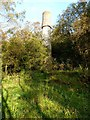 NY7065 : Old chimney in the valley of the Haltwhistle Burn by Oliver Dixon