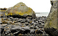 J4892 : Boulders, Whitehead by Albert Bridge