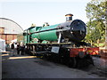 ST0841 : Raveningham Hall at Williton loco shed by Roger Cornfoot