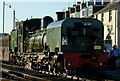 SH5738 : End of the day at Porthmadog by Peter Trimming