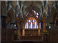 SK9771 : Altar, St Hugh's Choir, Lincoln Cathedral by J.Hannan-Briggs