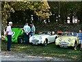 ST7475 : Frogeye Sprites at 'Spirit of the 60s' Dyrham Park by Brian Robert Marshall