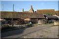 ST5883 : Roofs, Cattybrook Farm  by Robin Stott