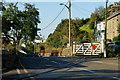 SH6139 : Penrhyn Crossing, Gwynedd by Peter Trimming