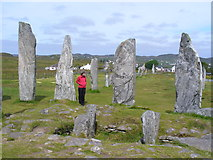 NB2133 : Uncovered Tomb, Callanish by Colin Smith
