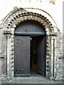 SU1869 : West door, St Mary's Church, Marlborough by Brian Robert Marshall