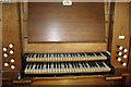 SK7354 : Organ Console, St Peter & St Paul Church, Upton by J.Hannan-Briggs