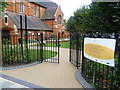 TQ2672 : The Community Garden of St Andrew's Church, Earlsfield by Marathon