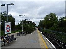 TQ2473 : Southfields station by Marathon
