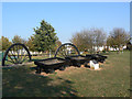 SK6435 : Memorial on Cotgrave Green by Alan Murray-Rust