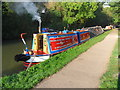SP7450 : Working Narrow Boat Hadar at Stoke Bruerne by Keith Lodge