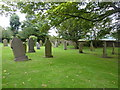 NZ1537 : The Church of St Thomas, Stanley Crook, Graveyard by Alexander P Kapp