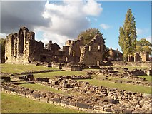 SE3706 : Monk Bretton Priory by Jonathan Clitheroe