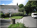 SX8551 : Norton Cross and cottage  by Robin Stott