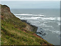 NZ7021 : Hunt Cliff by Robin Webster