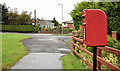 J3886 : Letter box, Trooperslane, Carrickfergus by Albert Bridge