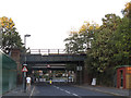 TQ4175 : Bridges over Eltham Green Road by Stephen Craven