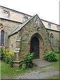 NZ3243 : St Laurence Church at Hallgarth, Porch by Alexander P Kapp