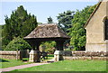 TQ1145 : Lych Gate, Church of St James, Abinger Common by N Chadwick